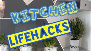 Lifehacks Küche Magnetwand Kräuter Deko Ikea Lifehack Küchenideen schöner wohnen Kitchen Lifehacks