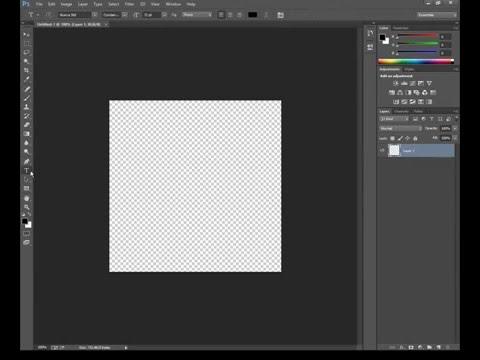 Photoshop CC (14.2.1): How To Underline Text