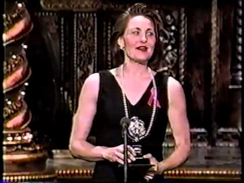 Cherry Jones wins 1995 Tony Award for Best Actress in a Play