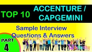 accenture   capgemini top most interview questions and answers for freshers experienced tips