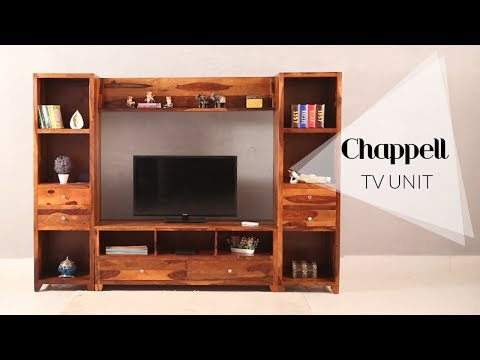 Tv Units : Chappell TV Unit by woodenstreet.com Starting From ₹58,699
