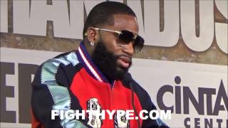 ADRIEN BRONER REVEALS ADVICE MAYWEATHER GAVE HIM BEFORE GRANADOS FIGHT; EXPLAINS WHY HE DIDN
