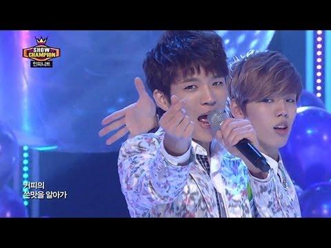 INFINITE - Man in Love, 인피니트 - 맨 인 러브, Show champion 20130403
