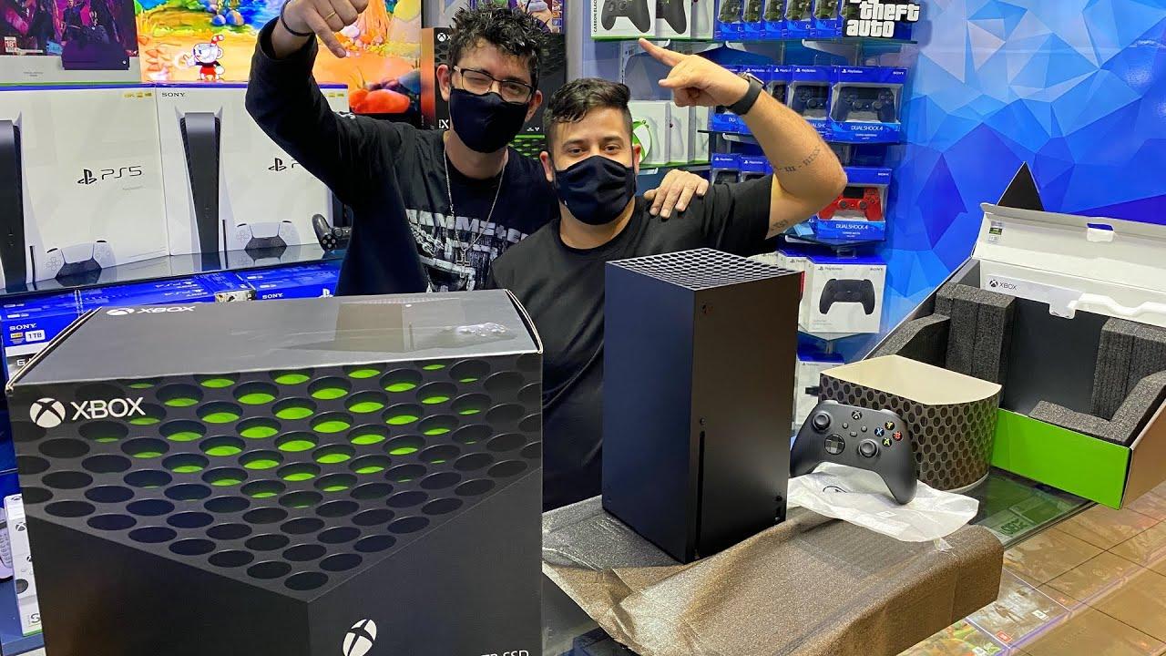 FINALMENTE XBOX SERIES X   PREÇOS ATUALIZADOS
