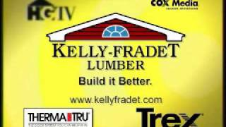 Kelly Fradet Lumber Home and Garden Channel Commercial.wmv