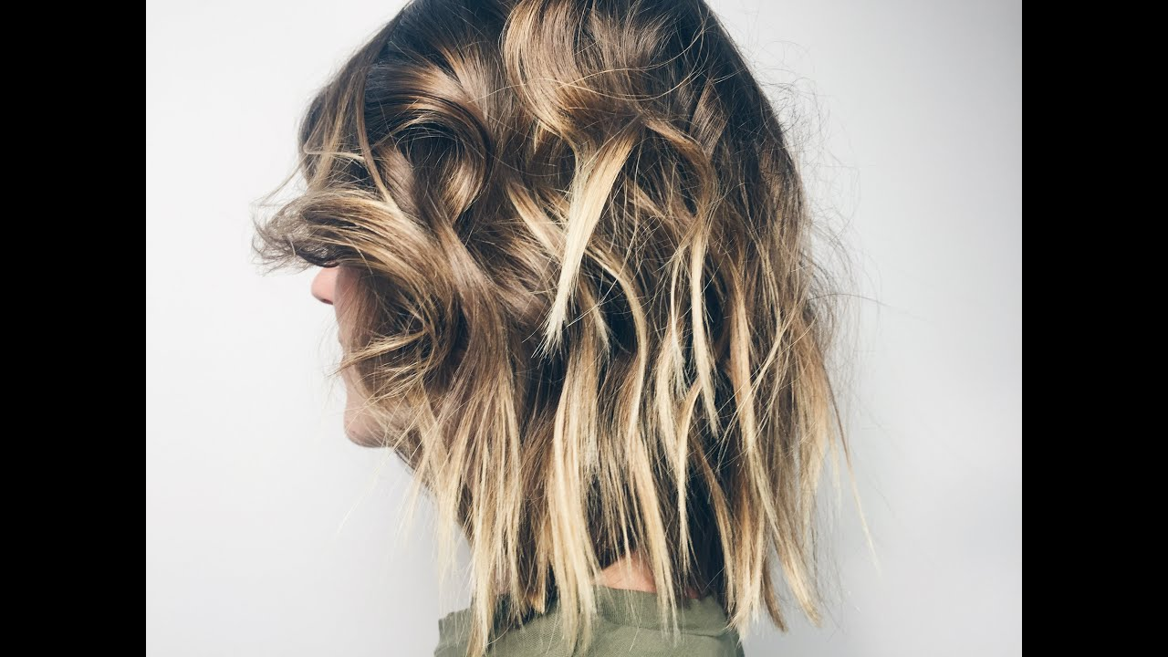 cut lob with layers