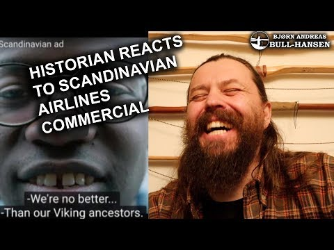 """""""Nothing is Truly Scandinavian"""" - Historian Reacts to Scandinavian Airlines Commercial"""