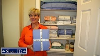How To Organize Bed Sheets For Your Linen Closets With Sheet Id