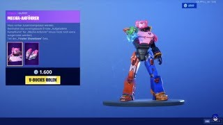 Roboter als SKIN IM SHOP ⚡ Fortnite Shop Live Stream ⚡ Fortnite Live Deutsch . Fortnite Neuer Shop