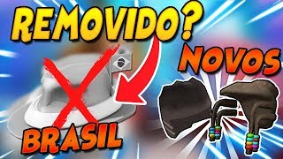 WHAT REALLY HAPPENED WITH FEDORA DO BRASIL AND NEW ITEMS! -ROBLOX