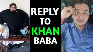 Best Reply To Khan Baba   Hindustani Bhau Vs Khan Baba