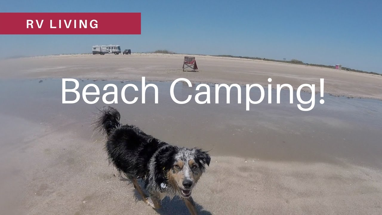 Rv Living Free Camping On The Beach At Bolivar Peninsula