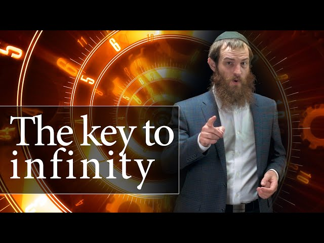 NOTHING Stands Between You and Infinity  [Shavuos]