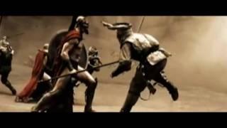 300 Fight Scene - Disturbed Indestructible