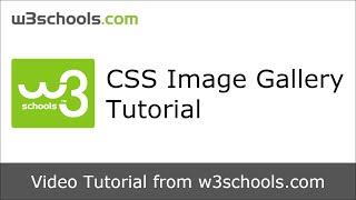 w3schools css image gallery tutorial