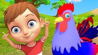Kukdoo Koo   Nursery Rhymes In Hindi on Animals   Animals Sounds in Hindi   कुकड़ू कु   Hindi Poems
