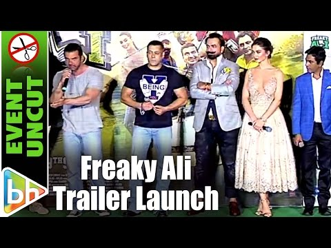 Freaky Ali Offical Trailer Launch | Salman Khan | Nawazuddin Siddiqui | Event Uncut