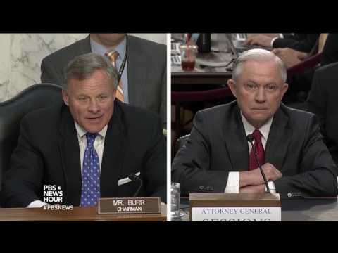 PBS NewsHour Jeff Sessions Hearing Special