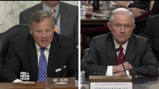 PBS NewsHour Jeff Sessions Hearing Special Free HD Video