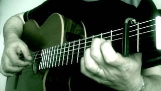 "Canon in Dmaj "" Easy Version on Guitar """