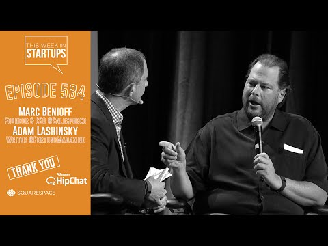 Salesforce Founder/CEO Marc Benioff: make your company great by giving back & improving the world