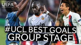 CUADRADO, KONDOGBIA, DI MARÍA: #UCL BEST GOALS Group Stage