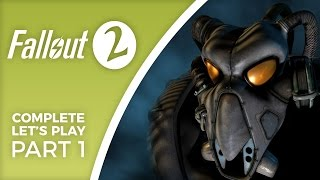 Let s Play Fallout 2 Episode 1 Gameplay introduction to the Restoration Project