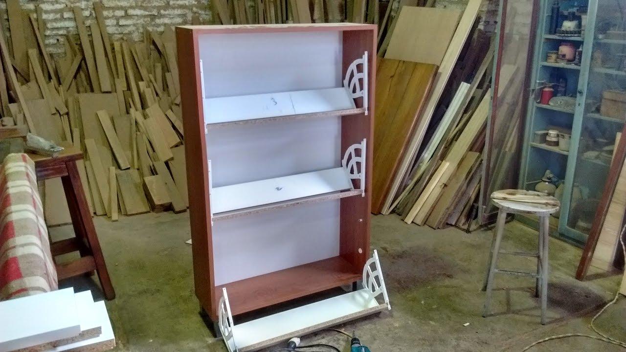 Como hacer un zapatero botinero de melamina leccion n 25 - Como hacer un altillo de madera ...