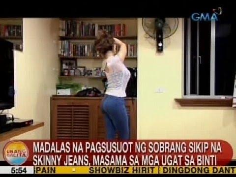 UB: Madalas na pagsusuot ng sobrang sikip na skinny jeans, masama sa mga ugat sa binti