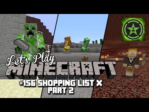 Let's Play Minecraft: Ep. 156 - Shopping List X Part 2