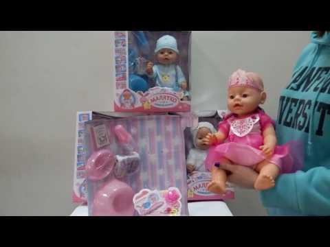 Видео обзор Кукла-пупс Беби Борн 'Малятко-немовлятко' BL018