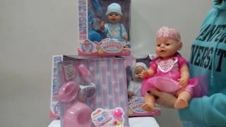 "Видео обзор Кукла-пупс Беби Борн ""Малятко-немовлятко"" BL018"