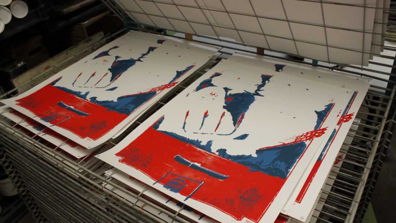 Survive : Limited Edition Screenprinted Poster from Fright-Rags