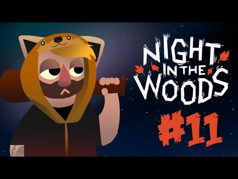 Night In The Woods [11] The Elevator Ghost (Gameplay / Walkthrough)