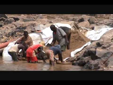 Dredging And Digging For Diamonds In Liberia