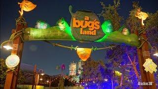 [4K] Bug's Land Tour & Rides - NOW CLOSED - Disney California Adventure