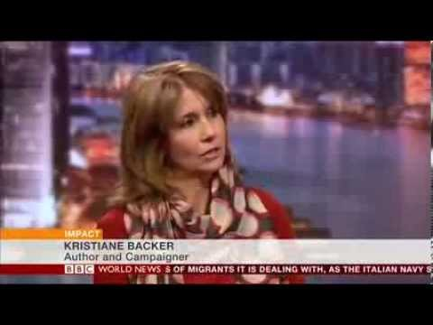 Kristiane Backer on BBC World News 100 Women