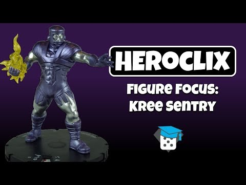 Heroclix Figure Focus : Kree Sentry