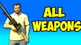 GTA 5 Next Gen - All Weapons in First Person
