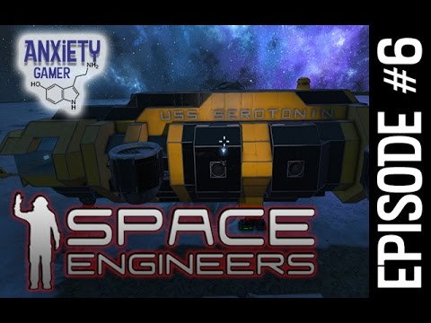 "SPACE ENGINEERS | ""REMOTE MINING DRONE"" 