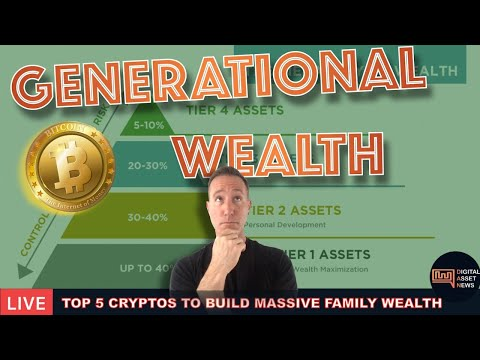 LIVE: TOP 5 CRYPTOS TO HODL FOR GENERATIONAL WEALTH