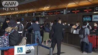 「ぎりぎりセーフ」ロス空港で日本人が駆け込み行列(20/03/25)