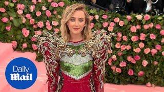 Saoirse Ronan looks stunning in sequins at 2019 Met Gala
