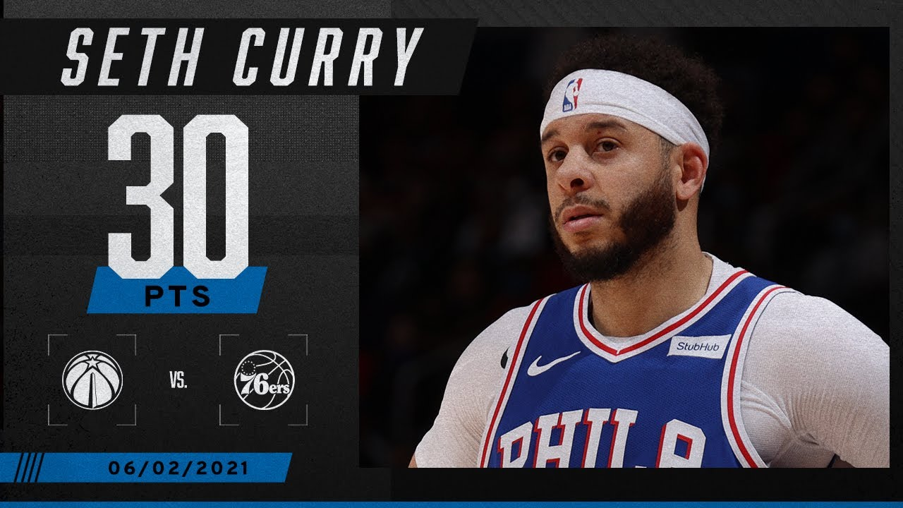 76ers' Seth Curry: Scores season-high 30 points