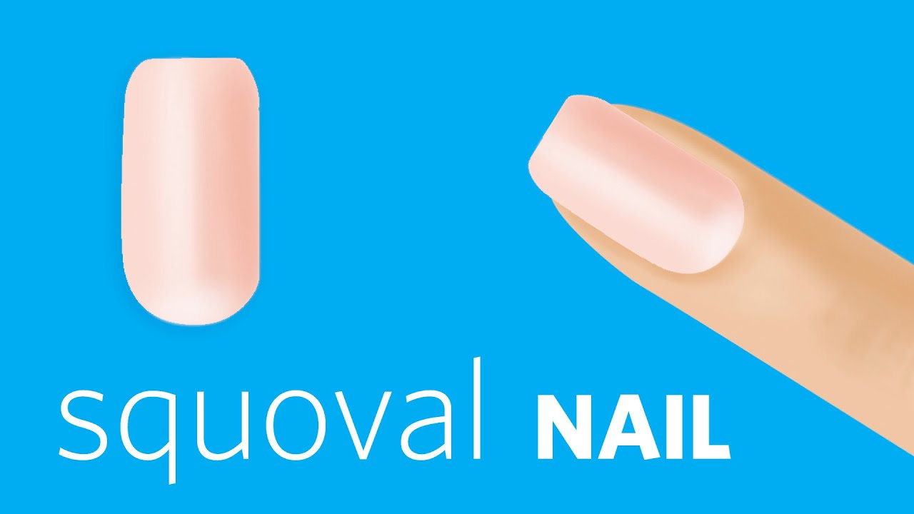 How To File Squoval Nails