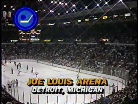 1988 Norris Semifinal - Detroit vs. Toronto (game 2--part 1)