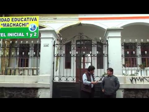 El acuerdo de uso, se desarrollará en la Unidad Educativa Machachi