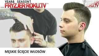 Męskie ścięcie włosów. FryzjerRoku.tv