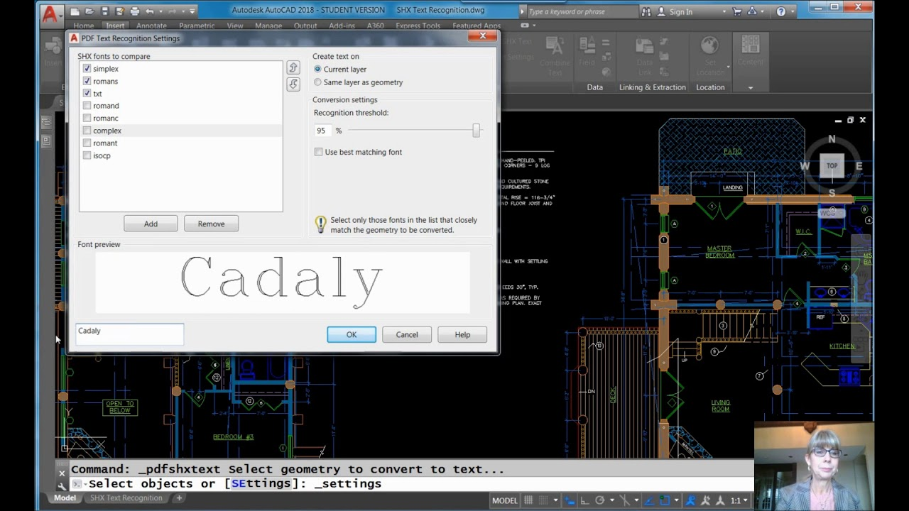 AutoCAD Video Tips: Convert SHX Text from PDF Files to MTEXT (Lynn  Allen/Cadalyst Magazine)