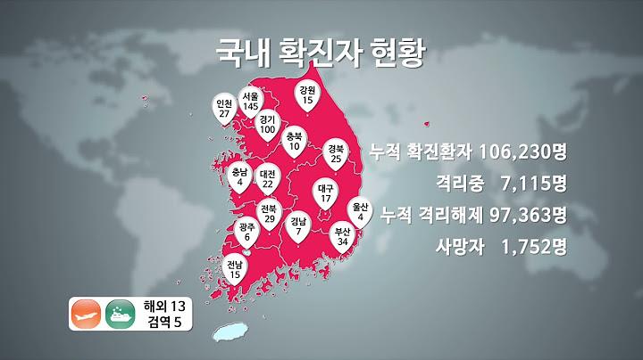 미미위강남 코로나19 [조간브리핑](4.7)